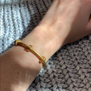 Madewell Gold Bangle Adjustable